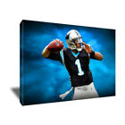 CAM NEWTON of the Carolina Panthers Portrait poster photo CANVAS ART PAINTING