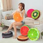 3D Fruit Round Cotton Home Office Chair Seat Back Cushion Bed Sofa Throw Pillow