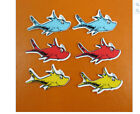 Cat in the Hat planar resin Thing 1 & 2 Blue Fish Yellow Fish Red Fish