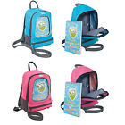 Trespass Picasso Kids School Backpack with Safety Rein Drawing Book & Pencils