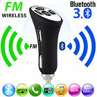 Bluetooth Wireless 3.0 A2DP Car AUX Stereo Audio Receiver FM Adapter USB Charger