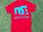 DC SHOE CO. DC SHOE RED short sleeve skater T shirt  DC SHOE RED T- Shirt S