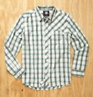 QUIKSILVER MEN  FLANNEL LONG SLEEVE SHIRTS WALRUS