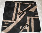 3 Men's Pocket Scarf Multi-Color Black Bronze White Geometric Polyester & Brown