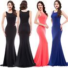 Women Sexy Summer Long Dress Prom Bridesmaid Party Formal Cocktail Evening Gown
