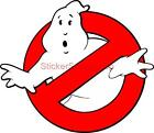 Choose Size - GHOST BUSTERS LOGO Decal Removable WALL STICKER Art Decor