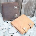 REAL Leather Biker Wallet | Brown & Tan | Hunter Suede | FREE Shipping