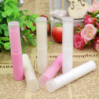 10pcs 4g Beige Pink White Empty lipstick Lip Balm Container Tube + Caps 84*16mm