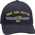 HMS ARK ROYAL Embroidered Baseball Caps & Beanies
