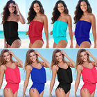 Sexy Design Women One piece Swimwear Swimsuit Beach Bikini Monokini Bathing