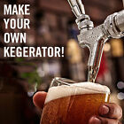 KegWorks Build Your Own Kegerator Conversion Kit - Draft Beer Dispensing at Home