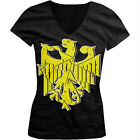 Distressed German Eagle - Germany Deutschland Pride Juniors V-neck T-shirt