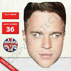 Olly Murs Celebrity X Factor Singer Card Mask - Fun For Parties New