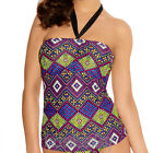 Freya Swimwear Byzantine Bandeau Tankini Top Neo 3085 NEW Select Size