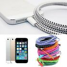 1M Pro Braided Sync Data Cable Cord USB Charger for iPhone 6 6S Plus 5 5S 5c New