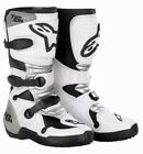 Alpinestars Tech 6s Childrens Kids Offroad Motocross Quad Mx Boots White