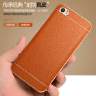 Luxury Genuine Leather Back +Aluminum Metal Bumper Case Cover For Xiaomi Mi5 M5