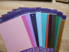 10 x A4 sheets quality pearlescent card  310 gsm - 21 colours