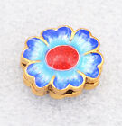 cloisonne beads Buddhist Sunflower character Jewelry accessories gifts #38