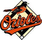Baltimore Orioles cornhole board decal 1 set (2 decals)