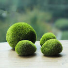 Green Artificial Moss Stones Grass Plant Poted Home Garden Decor Landscape