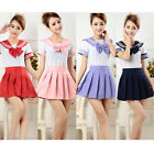 Cosplay Japanese School Girls Dress Outfit Sailor Uniform Anime Costumes Fashion