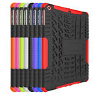 Dual Layer Rugged Stand Rubber Shockproof Hybrid Hard Case Cover Skin For iPad