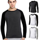 Hot Sale Fashion Comfortable Men's Long Sleeve T-Shirt Brand New Tops Casual