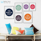 how to make chalk paint at home - Modern Motivational Quotes A4 Poster Print Minimal Home Deco Art Canvas Painting