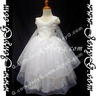 #PBW8 Girls Wedding Holiday Birthday Pageant Party Graduation Church Dress Gown