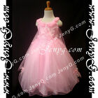 #PFPK8 Girls Wedding Holiday Birthday Pageant Party Graduation Prom Dress Gown