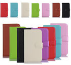 Luxury Magnetic PU Flip Leather Case Cover Wallet Stand Card For HTC Phones