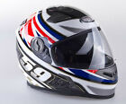 VIPER RS-V9 FULL FACE UK59 FLAG MOTORCYCLE MOTORBIKE HELMET - INNER SUN VISOR
