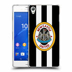 OFFICIAL NEWCASTLE UNITED FC NUFC RETRO BADGE SOFT GEL CASE FOR SONY PHONES 1
