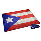 Flag of Puerto Rico, Puerto Rican - Tempered Glass Bar & Kitchen Cutting Board