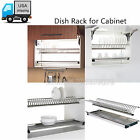2 Tier Stainless Steel Folding Dish Drying/Dryer Racks Dr...