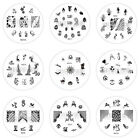 Nail Art Stamp Stamping Image Template Plate W Series 2 (W210-W218) *** NEW ***