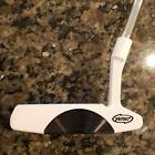 YES TOUR ISSUE NICOLE Tour White with Flangeline CNC MILLED  PUTTER   $159!!