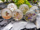 Pair of Beautiful Glass Flower Fairy Drawer Pulls/Handles Lots Of Choices
