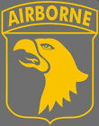 Airborne Paratrooper Military Eagle decal sticker