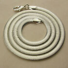 """5MM W. 925 STERLING SILVER EP SNAKE CHAIN NECKLACE 18"""" , 23 1/4"""" INCH"""