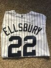 Mens Jacoby Ellsbury New York Yankees Home Pinstripe Authentic Jersey Size 2XL