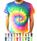 Tie Dye t shirt top tee music festival dance gay pride fancy dress small - 5XL