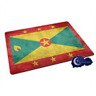 Flag of Grenada, Grenadian - Tempered Glass Bar & Kitchen Cutting Board