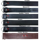 Kyпить Leather Belts Kilt Scottish Highland Black Brown Embossed Without Buckle New AAR на еВаy.соm