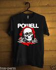 POWELL PERALTA SKULL Black T-shirt for Man Size S-2XL