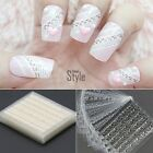 30 pz 3D Pizzo Fiore Nail Art Manicure Tips Adesivo Decalcomania