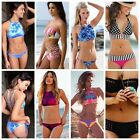 New Sexy Womens Bandage Swimwear Push Up Bandage Bikini Set Swimsuit FO