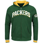 Green Bay Packers Majestic Anchor Point Full-Zip Hoodie - Green - NFL