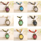 Fashion Retro Bohemian Women Jewelry Beads Multilayer Chain Owl Pendant Necklace